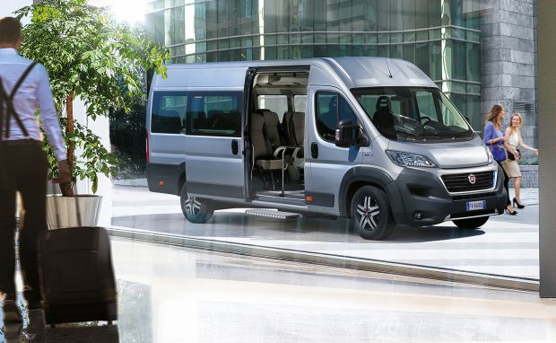 Here comes the new Fiat Professional Ducato Minibus