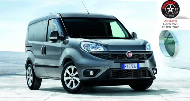 Doblo Cargo crowned Light Van of The Year for third successive time