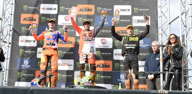 Tony Cairoli triumphs in Spain on the red sand of Castellón