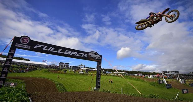 The FIM MXGP Motocross World Championship comes to Ottobiano in partnership with Fiat Professional