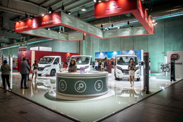 Fiat Professional at Salone del Camper 2018 in Parma
